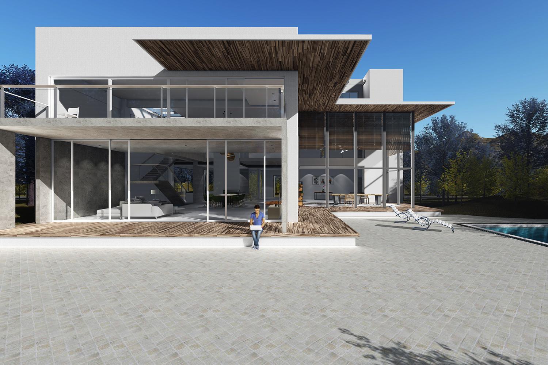 成都藍頂藝術村,別墅設計