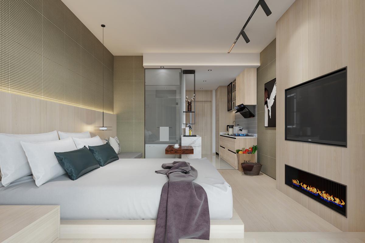 攀枝花溪山春曉酒店式公寓樣板方案