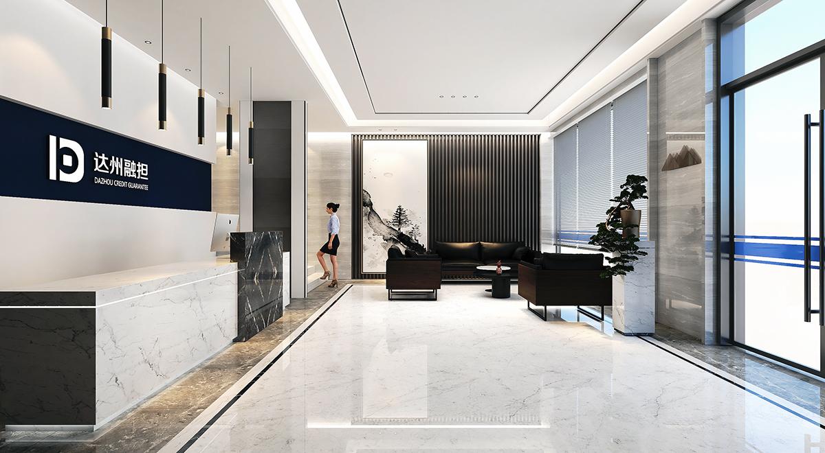 達州融擔辦公樓裝修設計,成都辦公空間設計公司,辦公室設計案例