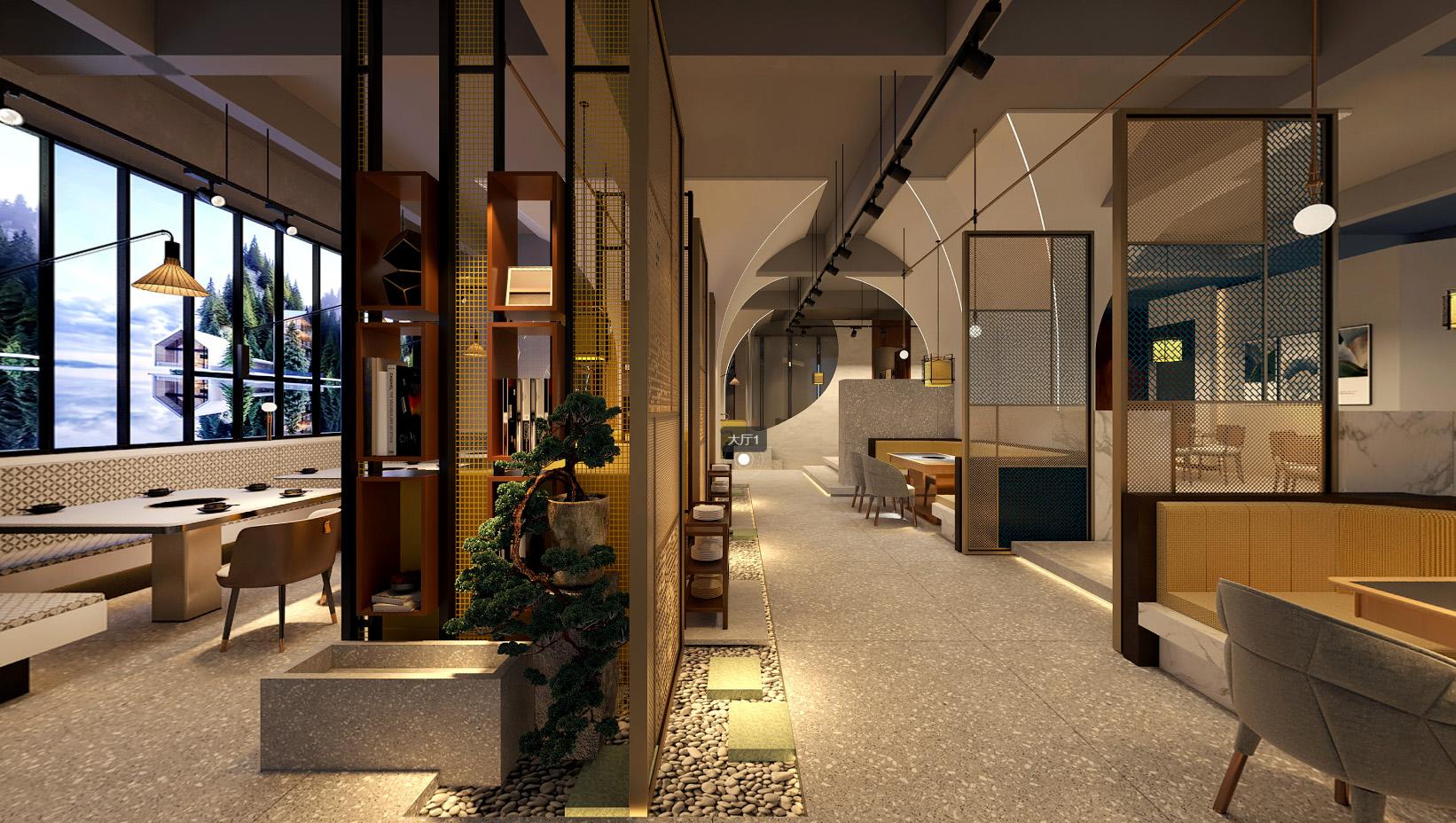 享里火鍋店餐飲空間設計
